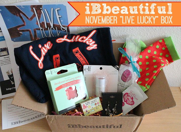 Ibbeautiful Box November S Ibbeautiful Box Theme Was