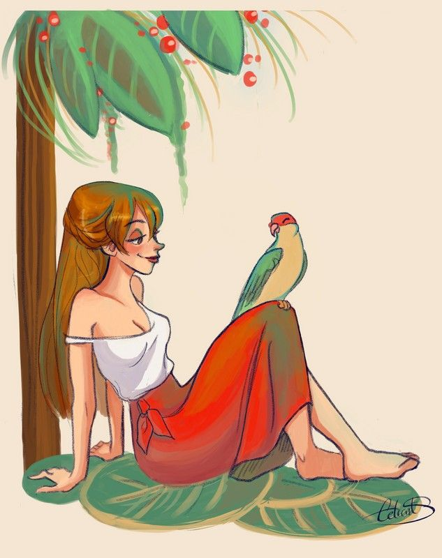 "Jane Porter by Celiarts.deviantart.com on @DeviantArt - From ""Tarzan"""