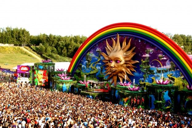 Tomorrowland 2012 hd wallpaper crowd photo