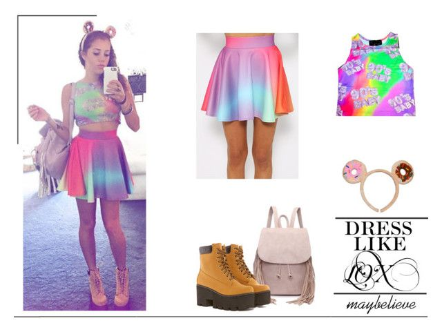 Mahogany LOX #2 by maybelieve on Polyvore featuring moda, O-Mighty and Tokidoki