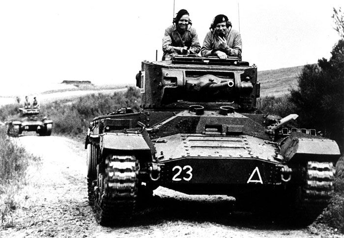 A Valentine II of 3 Tanks during manoeuvres between the 6th and 7th of May 1942 at Waiouru #WorldWar2 #Tanks