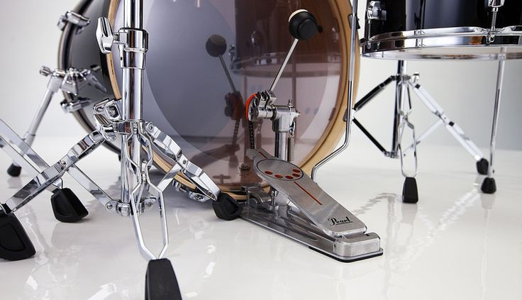 Best Double Bass Drum Pedals - Pearl Demon Direct Drive Pedal www.drumperium.com/cat/drums-hardware/