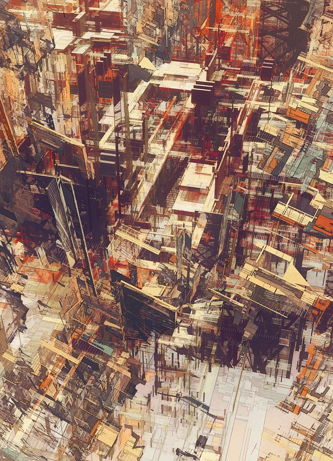 Cities IV / Deconstructed - atelier olschinsky