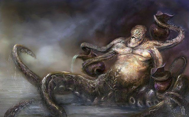 Aquarius Artist: Damon Hellandbrand