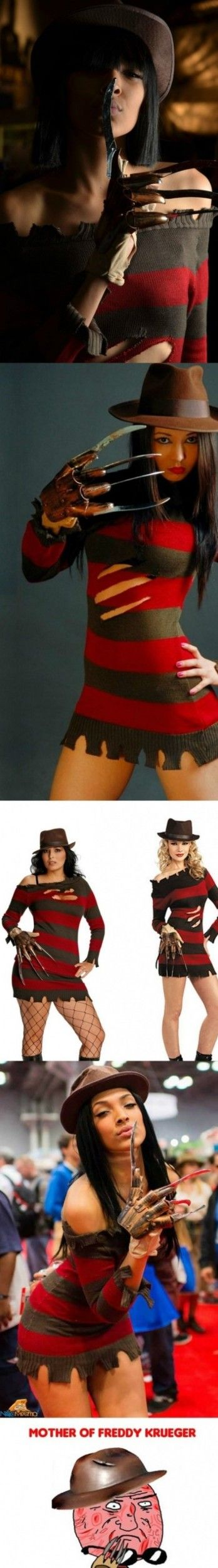 Happy halloween - freddy krueger girls - http://www.jokideo.com/happy-halloween-freddy-krueger-girls/