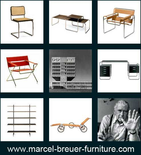 The Cesca chair is one of the most famous design furniture designs by Marcel Breuer. Other Bauhaus furniture or design classics are the cantilever S 32 and S34, the Wassily armchair and the bookshelf S44.