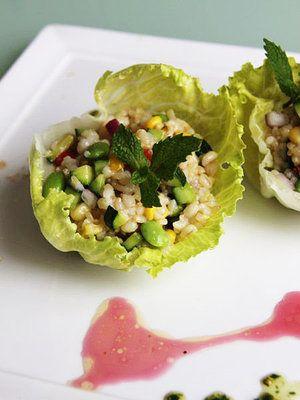 【ELLE a table】玄米と夏野菜のライスサラダレシピ|エル・オンライン