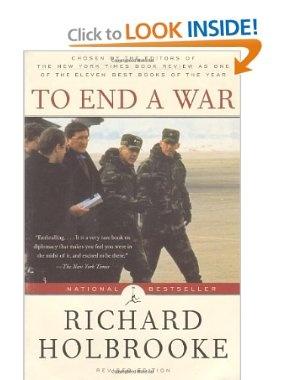 Amazon.com: To End a War (Modern Library Paperbacks) (9780375753602): Richard Holbrooke: Books