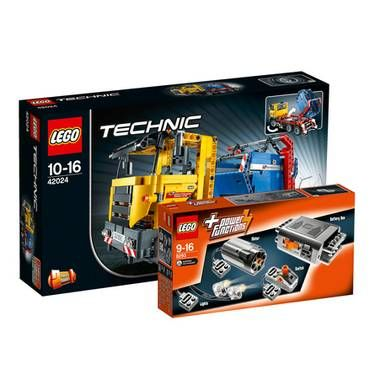 Spielwaren: LEGO Technic Container Truck 42024 & Power Functions Tuning Set  8293 von DM sonstige Marken
