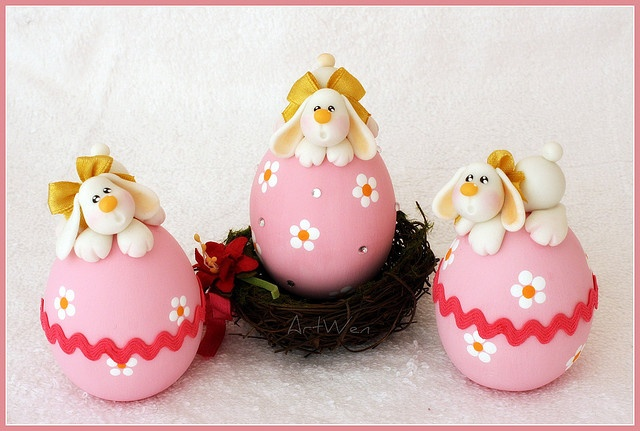 Pascua: Easter Parties, Easter, Easter Bunnies, Easter Eggs, Polymer Clay, Clay Easter, Photos Shared, Clay Seasons