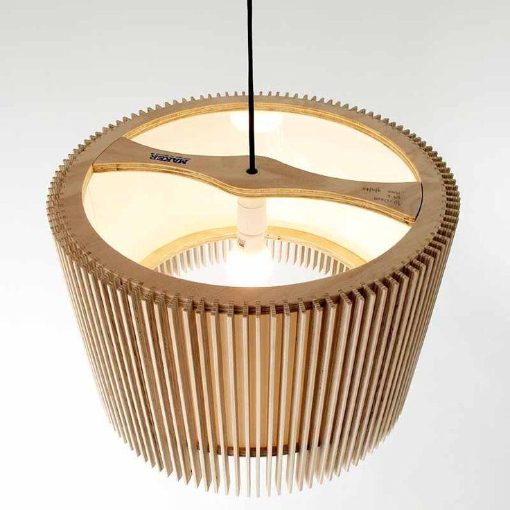iO Drum Pendant Lamp by Maker