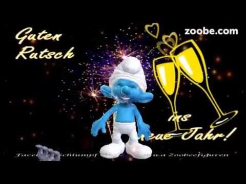 Silvester - Gesundes, neues Jahr Happy new year Guten Rutsch Schlümpfe, Zoobe. Animation - YouTube