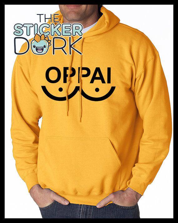 OPPAI Hoodie Sweater One Punch Man Saitama Genos Heat Transfer Vinyl