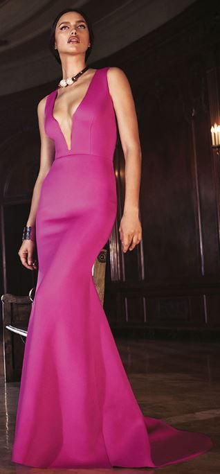 Deep V Mermaid Gown at #Bebe http://promotioncodesfor.com/bebe.coupon