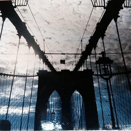 Foto Flashback: Casetta sul Ponte di Brooklyn #PontediBrooklyn #brooklyn #usa #america #viaggi #traveling