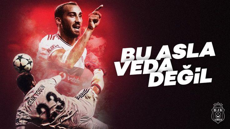 "Beşiktaş'tan Cenk Tosun'a: ""Bu asla veda değil Tosun Paşa"""