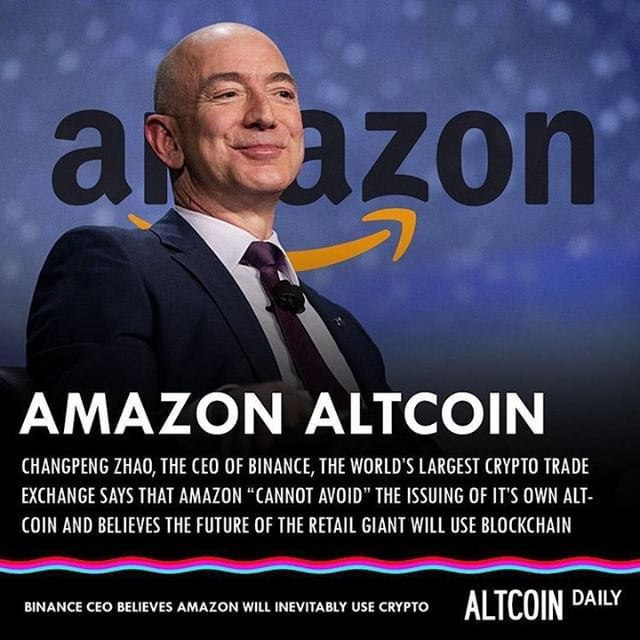 will amazon use cryptocurrency