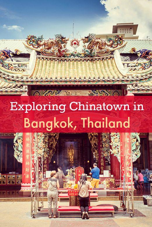 A visit to Chinatown, in Bangkok, Thailand | Exploring this centuries-old Chinese community near Bang Rak in Bangkok, Thailand.
