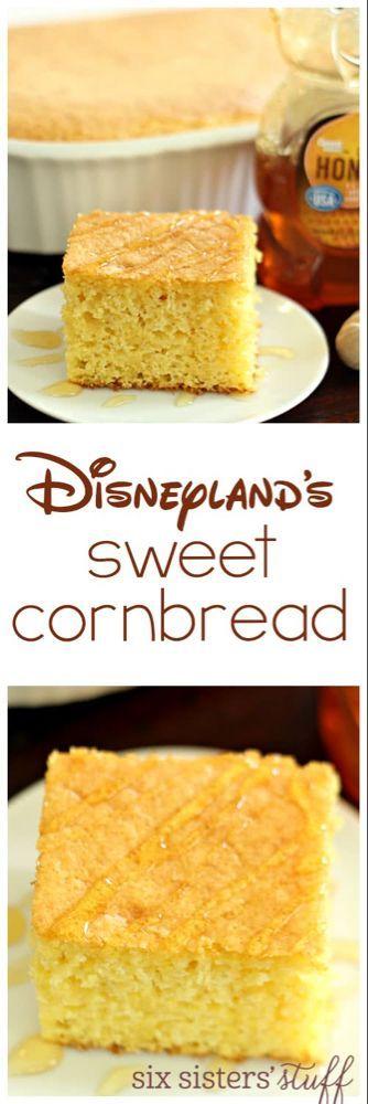 Disneylands süßes Maisbrot