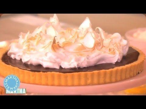 How to Make a Chocolate Ganache Tart - Martha Stewart - YouTube
