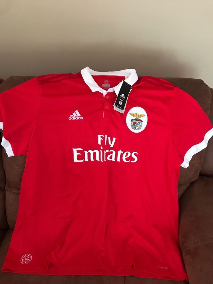 Adidas Benfica Portugal Red Soccer Jersey NWT Size 3XL Men | eBay ...