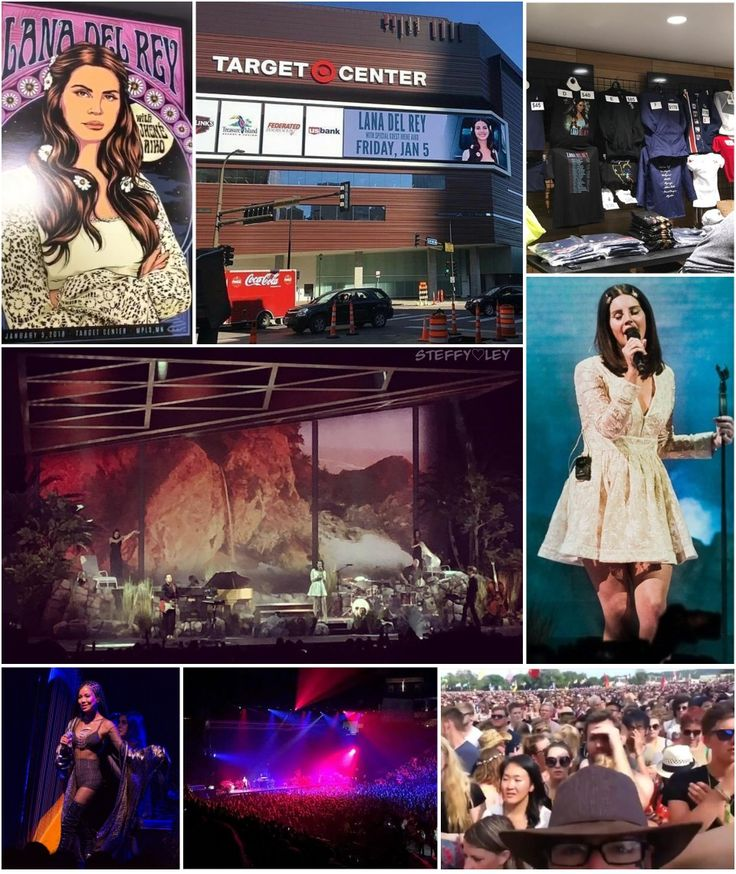 Jan.5, 2018: Lana Del Rey's LA to the Moon Tour kicks off in Minneapolis, MN at the Target Center with special guest Jhené Aiko #LDR