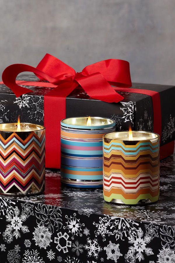 Missoni candles
