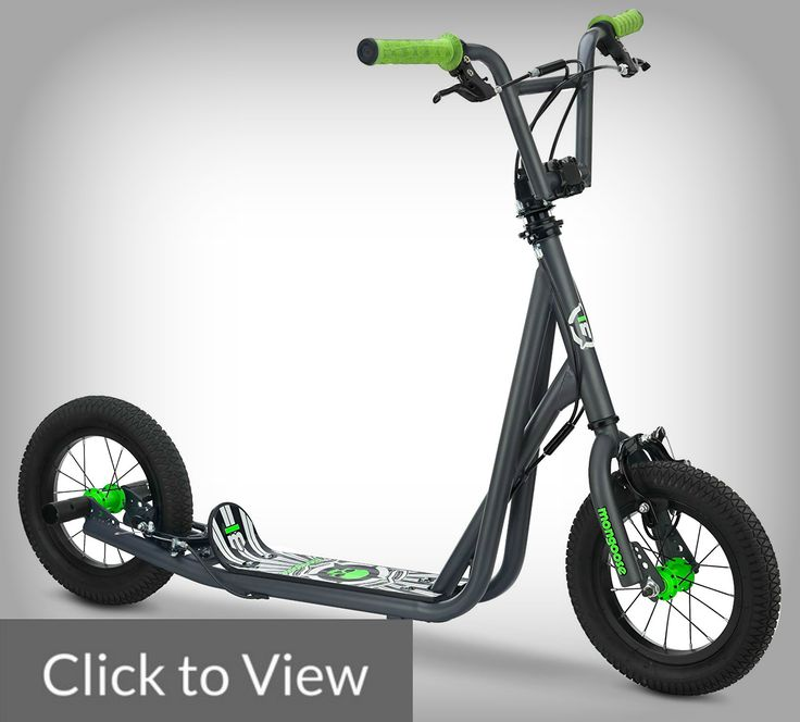 Mongoose Expo Scooter  When you are hesitant to get a bike for your kids, getting a scooter with quality of a bike may be a good choice.  Besides, some active and adventurous kids are easily frustrated with the inline skate wheel scooters that clunk over sidewalks and get hung up on the smallest obstructions like pebbles or debris.  Mongoose Expo may have just surpassed all that issues.  With Mongoose Expo and its 12in tires, you can go almost every place a bike can go, from smooth grass to…