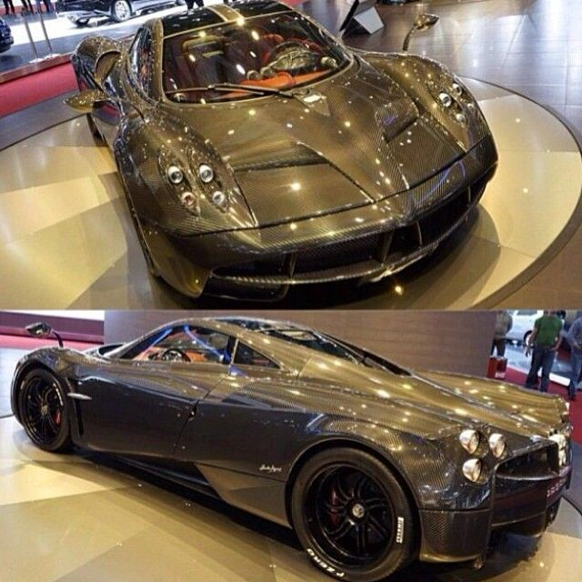 #PaganiHuayra Geneva Motor Show #Pagani #CarbonFibers #BugattiVeyron Ferrari 45