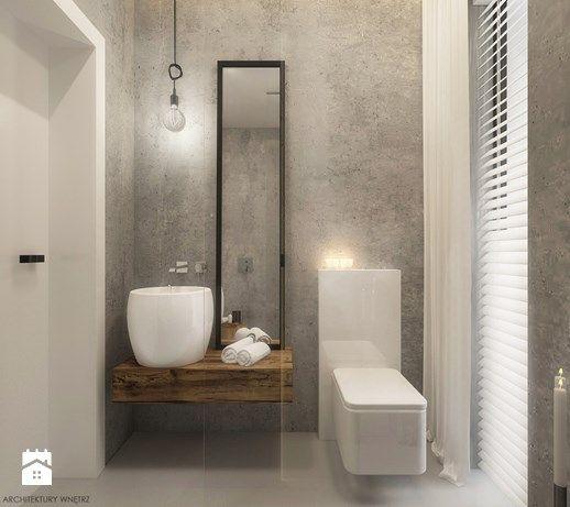 Łazienka styl Industrialny - zdjęcie od ELEMENTY - Pracownia Architektury Wnętrz