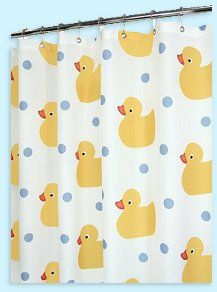 Rubber Ducks   Rubber Ducks Bathrooms   Rubber Ducky Bedroom Accessories    Yellow Duck Baby Nursery · Fabric Shower CurtainsBathroom ...
