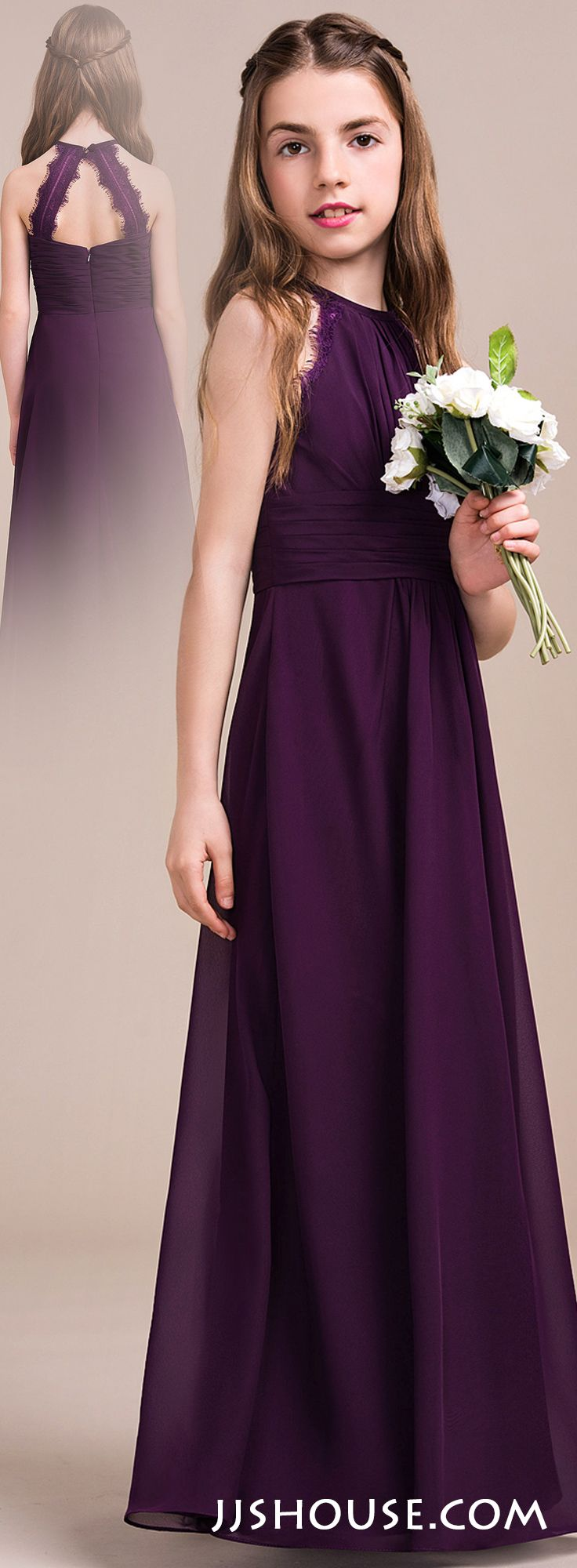 Best 25 jr bridesmaid dresses ideas on pinterest prom a nice choice for your junior bridesmaid this long dress is the right mix of ombrellifo Image collections
