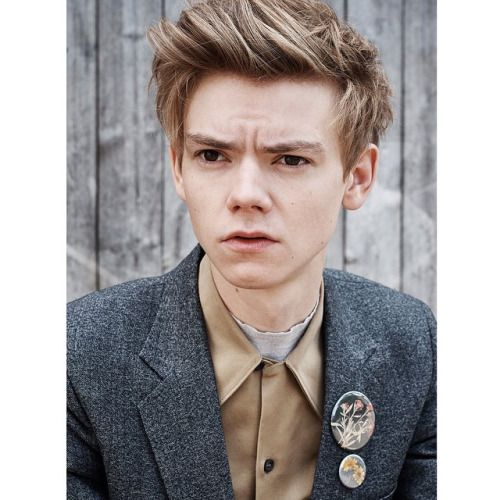 His hair, Thomas Brodie Sangster ♥ ♥ ♥ ♥ ♥