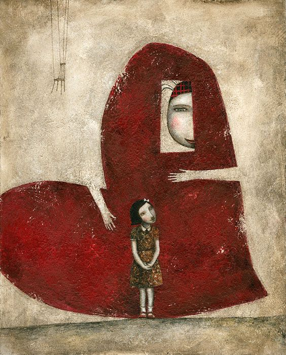 """""""Important thing"""" by Ofra Amit (Illustrator from Israel)"""