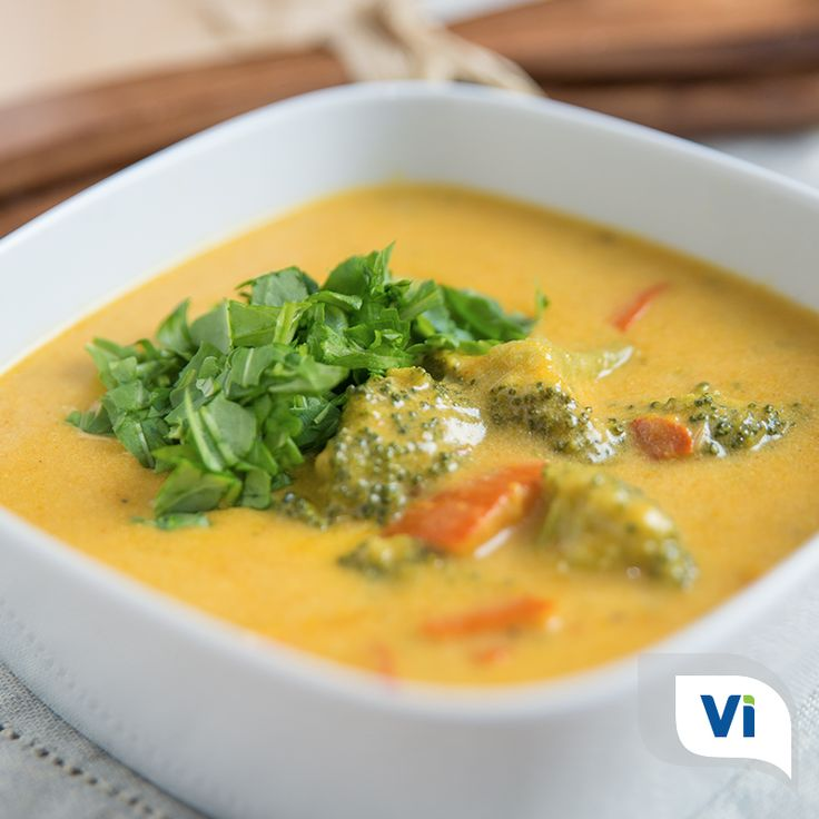 Finding a nutrient-dense soup isn't always easy, especially if you have digestive issues. View the full recipe for Coconut Curry Soup by Bryee Shepard, RD, here:https://vivantehealth.com/coconut-curry-soup/#Gluten #NoGluten #Glutenfree #Dairyfree #Recipe #Vegetarian #Coconut #curry #Soup #DigestiveHealth #EatHealthy #Healthy #Health #GutHealth #HealthyGut #Celiac #Celiacsafe #CeliacFriendly