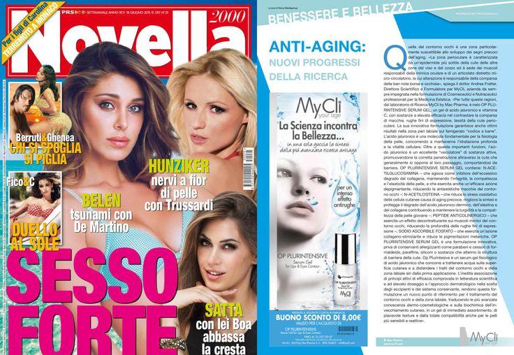 #oggiinedicola #buonosconto #MyCli #Novella2000  Da non perdere!