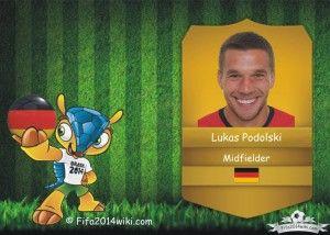 Lukas Podolski - Germany Player - FIFA 2014