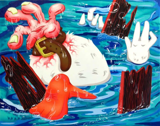 ilustradores surrealistas