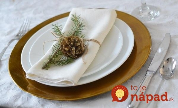 christmas-crafts-ideas-natural-materials-diy-table-decoration-festive-table-setting-pine-cone-fir