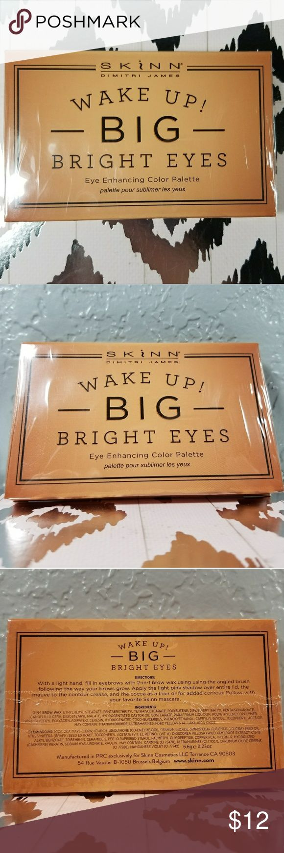 Skinn Wake Up! Big Bright Eyes eyeshadow/brow wax NWT