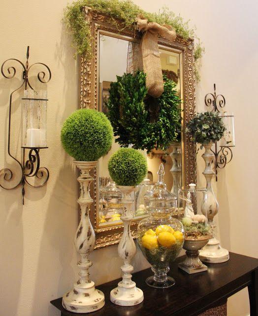 25 best ideas about Foyer Table Decor on PinterestConsole