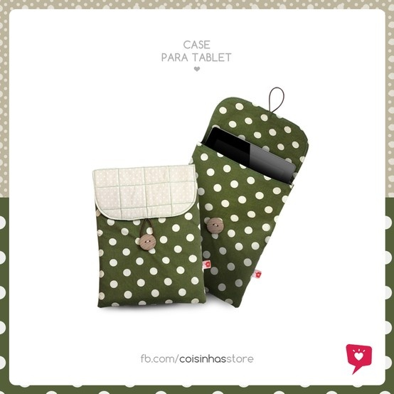 Case para tablet Sorvete de Kiwi R$39.00