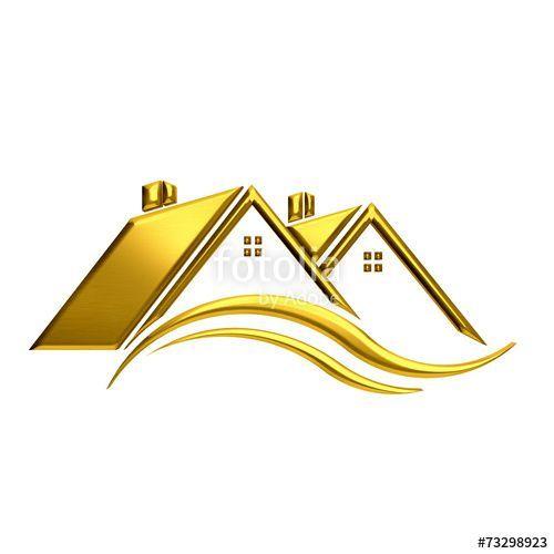"Home Design 3d Gold: ""Golden Houses Real Estate Image."" #house #home"