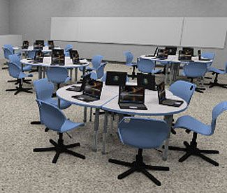 Today, No Manufacturer Offers More Choices In School Computer Lab Furniture  Than Smith System.