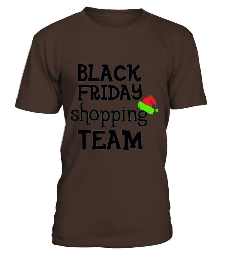 Christmas Tee Black Friday Shopping  Team Tshirts  Funny Christmas T-shirt, Best Christmas T-shirt