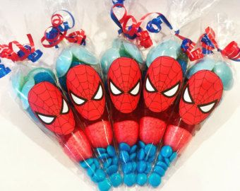 15 x lego sweet cones ideal for kids birthday party by SweetMafia