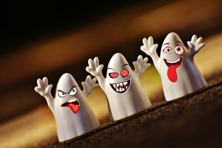 Fondo de Pantalla de Fantasmas, Caras, Burlas, Risas, Halloween, Divertido