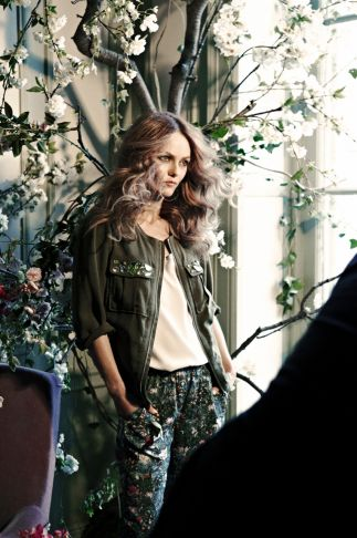 Vanessa Paradis Revealed As The Face Of H's Conscious Collection   Grazia Fashion