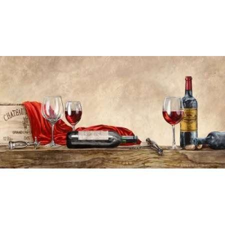 Grand Cru Wines (detail) Canvas Art - Sandro Ferrari (10 x 20)