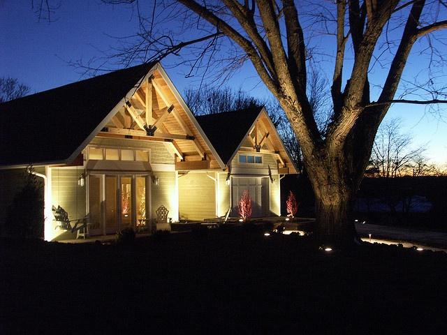 House uplighting exterior landscape lighting blog for Exterior uplighting